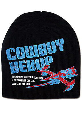 **Legit** Cowboy Bebop Swordfish II Authentic Beanie Headwear Cap Hat #32437