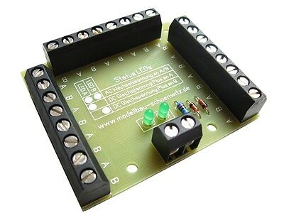 S054 - 5 Pieces Power distribution unit + Status LEDs 24x Finished module V1.0