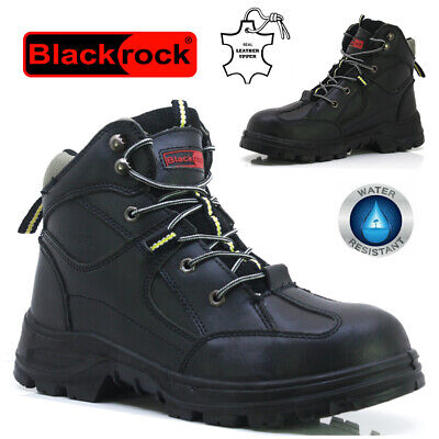 Mens Dickies Leather Safety Composite Toe Cap Midsole Work Ankle Boots Shoes Sz