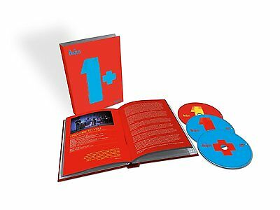 The Beatles 1+ Limited Edition Deluxe Cd + 2 Dvds 2015 Box Set New Sealed
