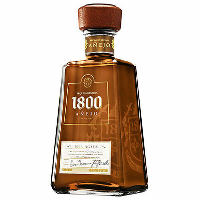TEQUILA RESERVA 1800 ANEJO CL. 70 Messicano 100% Agave Real Mexico Jose' Cuervo