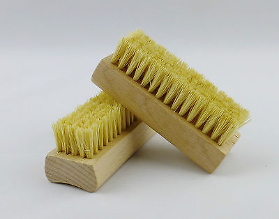 2 x Mondial Deluxe Leather Cleaner Cleaning Brushes USE WITH GLIPTONE CLEANER