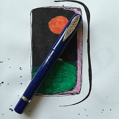 Marlen EURO Limited Edition 00 out of 2002 fountain pen Near MINT