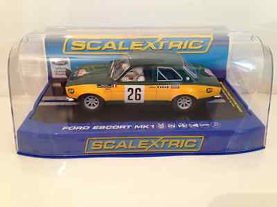 Scalextric C3635 Ford Escort MK1 Monte Carlo Rally 1970 #26 Team Ford