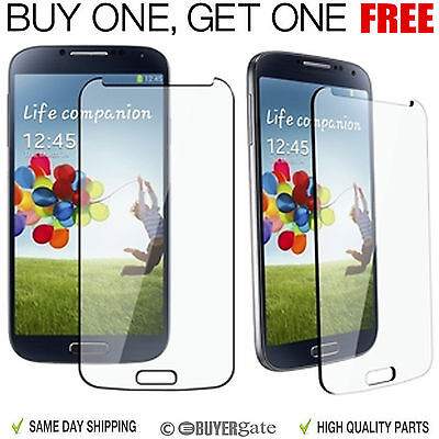 [ 2 Pack ]Genuine Gorilla Tempered Glass Film Screen Protector Samsung Galaxy S4