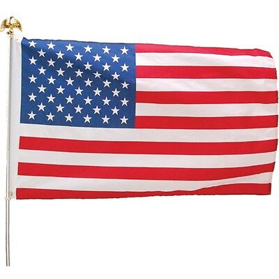 4TH OF JULY Patriotic USA Flags - 3x5 Cloth (USD5)