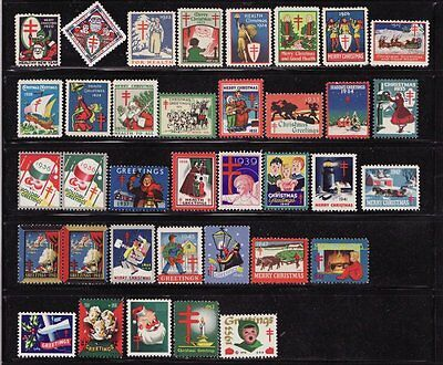 1920-68 U.S. National Christmas Seal Collection, As Required