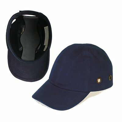 Blue Baseball Bump Cap - Lightweight Safety hard hat head protection Cap by Luce
