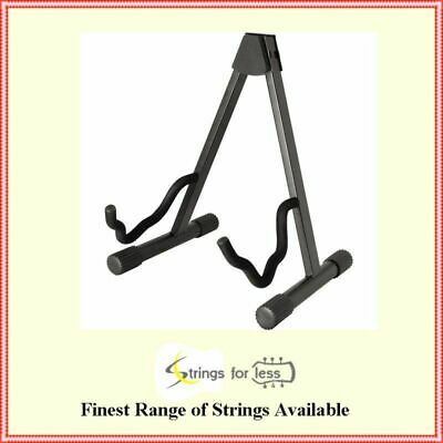 Heavy Duty A Frame Guitar Stand Built to fit Acoustic, Electric or Bass Guitars