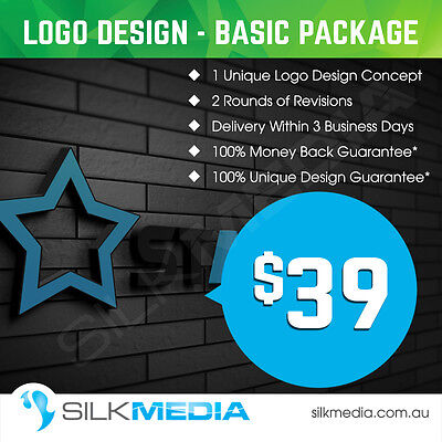 Professional Logo Design Basic Package– Vector File,100% Unique Design Guarantee