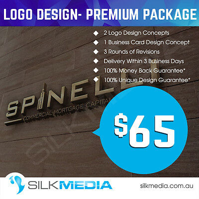 Professional Logo + Business Card Designs– Unique, Custom Design Guarantee