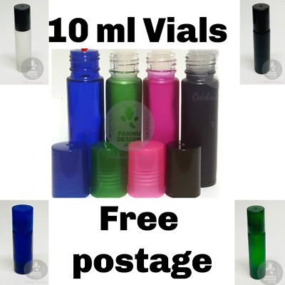 1-2.5 Ml Refillable Glass Vial Tubes Clear Glass Empty Liquid Sample Vials