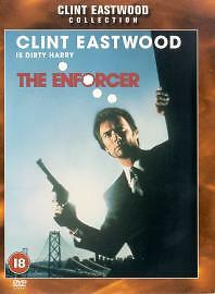 THE ENFORCER DVD 3rd Dirty Harry Movie Clint Eastwood Brand New UK Release R2