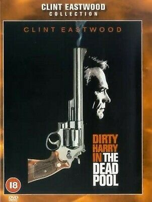 THE DEAD POOL DVD 5th Dirty Harry Movie Clint Eastwood Brand New UK Release R2