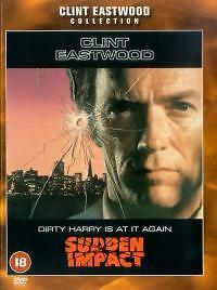 SUDDEN IMPACT DVD 4th Dirty Harry Movie Clint Eastwood Brand New UK Release R2