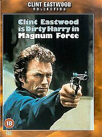 MAGNUM FORCE DVD 2nd Dirty Harry Movie Clint Eastwood Brand New UK Release R2