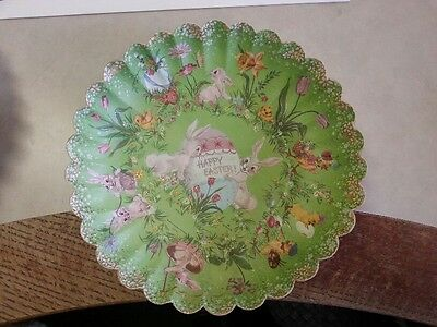 Vintage Happy Easter Paper Trays by Hallmark1960-70's