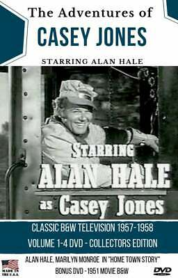 CASEY JONES TV SHOW - COMPLETE ALL 32 EPISODES - Sealed Makes a Great Gift