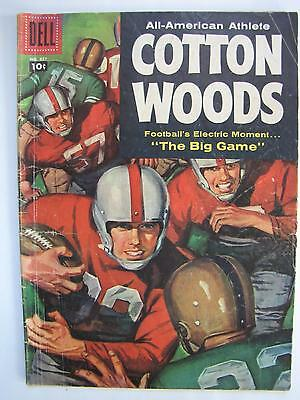 Cotton Woods, All-American Athlete, Four Color #837 (Sep 1957, Dell) [VG 4.0]