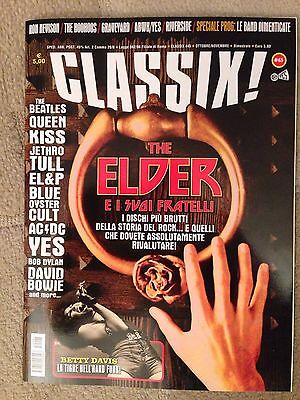 Kiss Rare Classix Magazine Italy Only