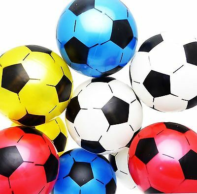 1 4 12 Inflatable Football Sports Training Soccer Beach Ball Children Kids Toy