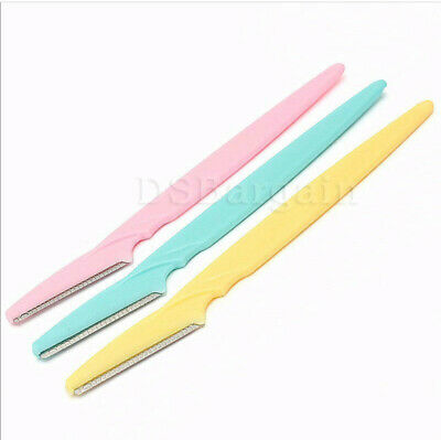 3x Tinkle Eyebrow Hair Removal Razor Blade Trimmer Clipper Knife Shaver Shaper