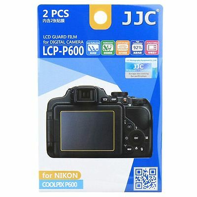 JJC LCP-P600 LCD Screen Protector For Nikon Coolpix P600 P900 P610 P900s P610s