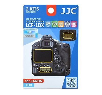 JJC LCP-1DX LCD Screen Protector Guard Film Cover for Canon 1Dx Camera
