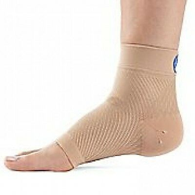 FS6 Compression Foot Sleeve / Compression Socks PAIR Natural
