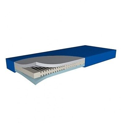 Pressure Care Hyper Foam 2 Mattress-King Single-3 Layer Foam-Up To 120kg  Cap...