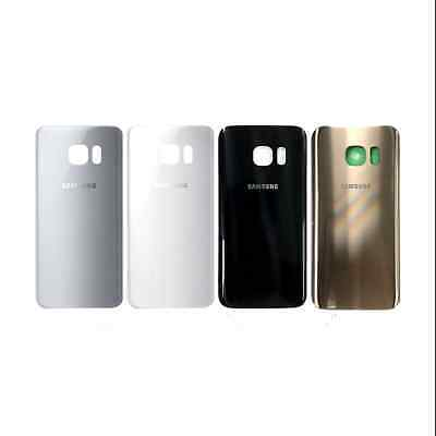 Original Back Battery Cover Glass Door + Adhesive For Samsung Galaxy S7 &S7 Edge