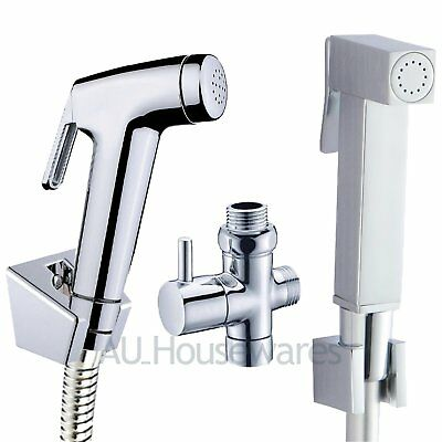 ACA Handheld shower head DOUCHE Toilet BIDET Sprayer Hygienic Brass diverter Kit