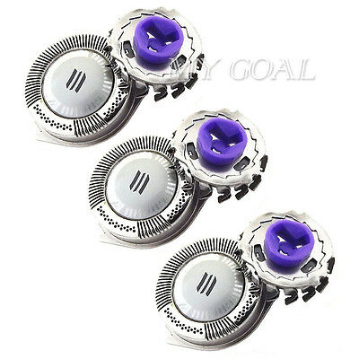3PCS Replacement Shaver Razor Foils Blades Cutters Heads For Philips HQ8