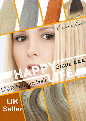 Full Head Human Remy Hair Weave Weft Hair Extensions-100g- Weaves-Multi Colours