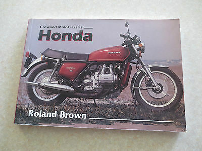 1949 - 1989 Honda motorcycles - The Complete Story book by Roland Brown