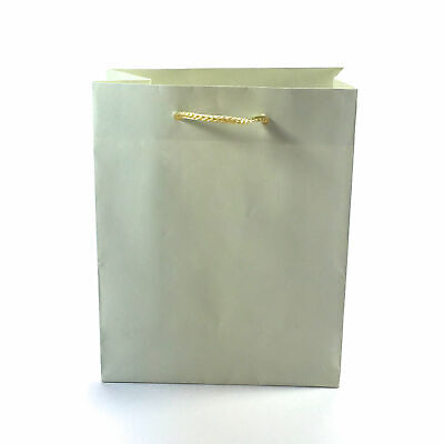 12 Pack Natural Paper Gift Bag Party Bags Cord Handles Crafts Wholesale Bulk Buy