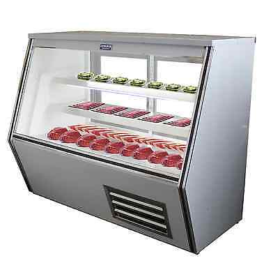 """Coolman Commercial Refrigerated High Deli Meat Display Case 60"""""""