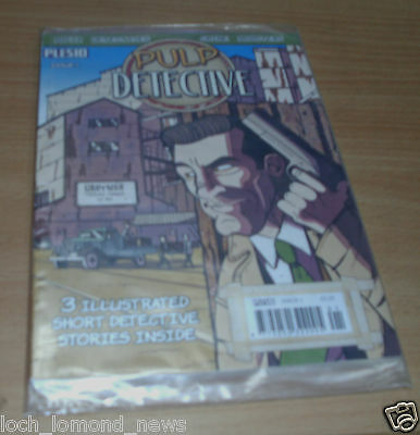 Pulp Detective magazine comic Issue #1 2012 Crime Mobsters, Mafia Detectives &