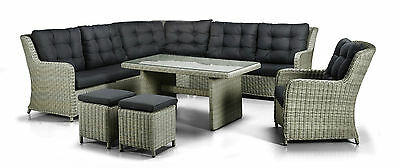 polyrattan sitzgarnitur sitzgruppe gartengarnitur loungem bel rattanm bel 16tlg eur 899 95. Black Bedroom Furniture Sets. Home Design Ideas