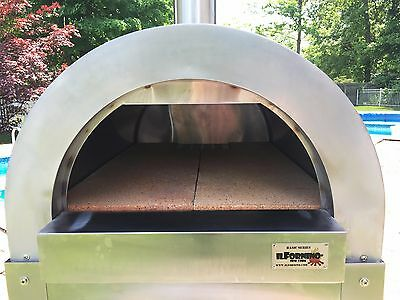 ilFornino® Basic Wood Fired Pizza Oven - Stainless Steel