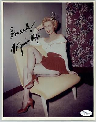 VIRGINIA MAYO (DECEASED) AUTOGRAPH SIGNED 8x10 AUTHENTICATED JSA #N44403