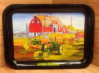 2003 Issue John Deere Spring Plantin' Metal Serving Tray