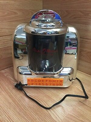 Smart Planet (JP-1) Pop-O-Matic 1950's Diner Style Jukebox Popcorn Maker -IN BOX