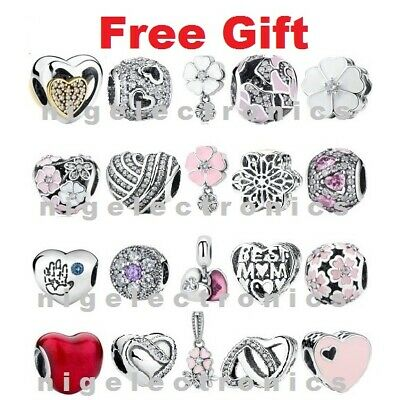 Authentic 925 Sterling Silver Romance Charms fit European / Reflexions Bracelet