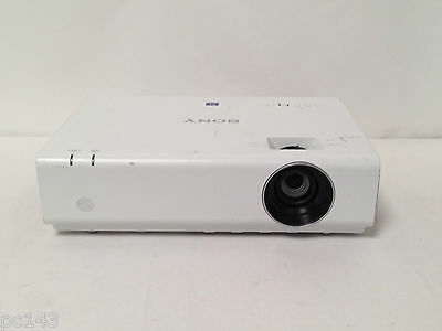 Sony Vpl-Ex235 Lcd Hdmi Projector Used 1087H Lamp Hours Image Shade (Ref:351)