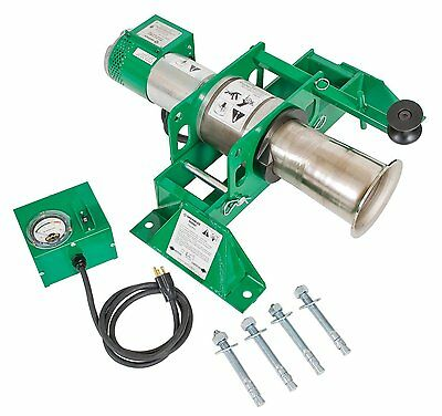 New Greenlee -6800- Cable Puller - 8000 Lbs Pulling Force