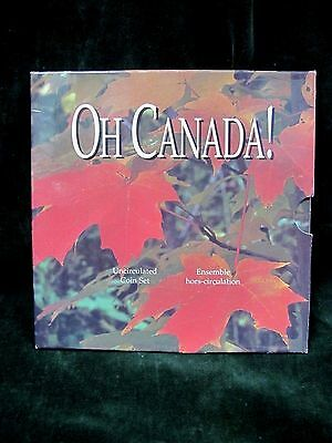 Oh Canada! 7 Piece Uncirculated Coin Set