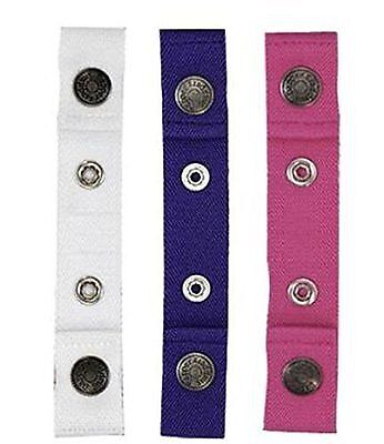 Dapper Snapper Baby & Toddler Adjustable Belt 3 Pack ~ Pink, White & Purple