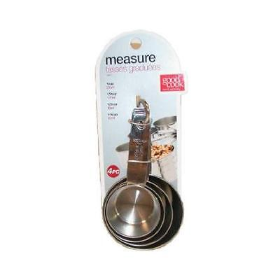4PC SS Meas Cup Set