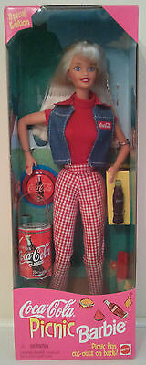 Coca Cola Picnic 1997 Barbie Doll - Special Edition - Never Removed from the Box